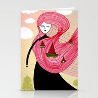 Watermelon Dream Stationery Cards