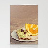 light snack Stationery Cards