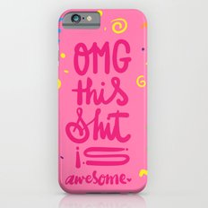 OMG this shit is awesome Slim Case iPhone 6s