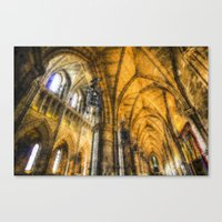 Southwark  Cathedral Lon… Canvas Print