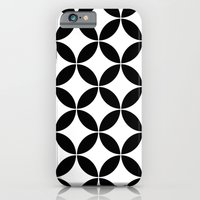 Geometric pattern (circles) iPhone 6 Slim Case
