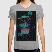 Hidding Our Loneliness S… Womens Fitted Tee Athletic Grey SMALL