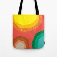 Polka Dots And Moonbeams Tote Bag