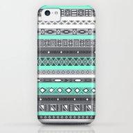Tiffany Turquoise Aztec … iPhone 5c Slim Case
