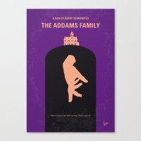 No423 My The Addams Fami… Canvas Print