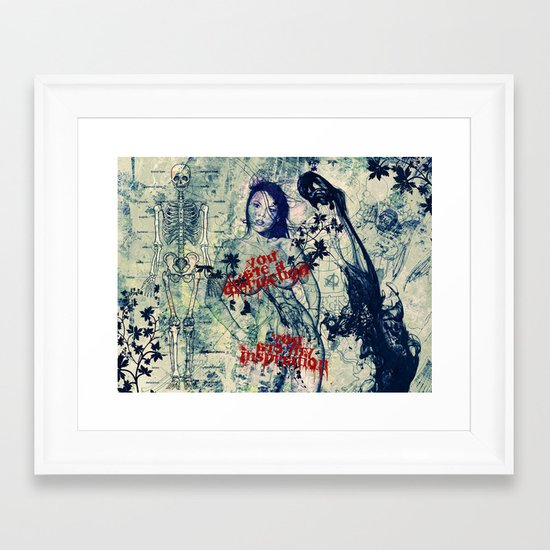 You are Mine. Framed Art Print