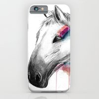 iPhone & iPod Case featuring Rainbow Horse by clickybird - Belinda Gillies