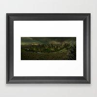 Amber Lake Framed Art Print