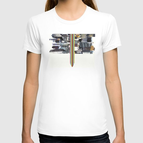 The Invisible Cities (dedicated to Italo Calvino) T-shirt
