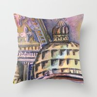 St. Marks Cathedral In V… Throw Pillow