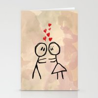 Kiss me ! Stationery Cards