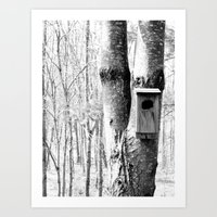 The Country House Art Print