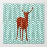 Oh Deer! Canvas Print