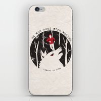 Sterek: He Who Runs With Wolves iPhone & iPod Skin