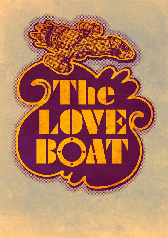 The Love Boat Art Print