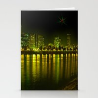 emerald city of roses Stationery Cards