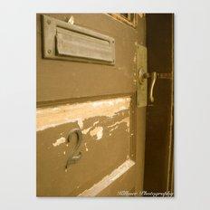 Behind Door Number Two Canvas Print