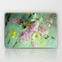 Country Flowers Laptop & iPad Skin