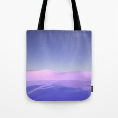 Purple Beach Tote Bag