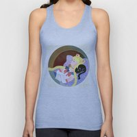 Sleeping Sailor Unisex Tank Top