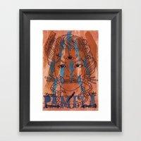 Pamela Skulz And Her 'se… Framed Art Print