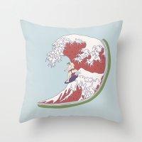 Summer Style Throw Pillow