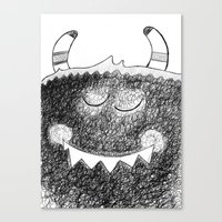 Monster O'Maley  Canvas Print