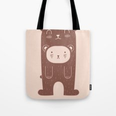 WILD + BEAR print Tote Bag