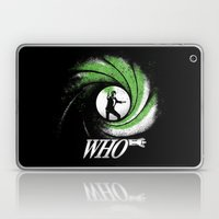 The Name's Who Laptop & iPad Skin