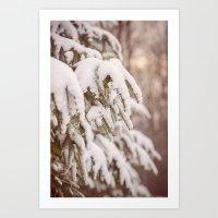 lovely winter Art Print