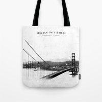 Golden Gate Bridge - San… Tote Bag