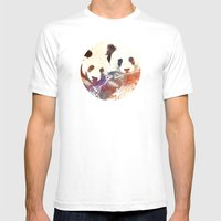 A.melanoleuca Mens Fitted Tee White SMALL