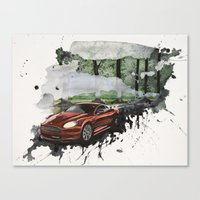 Keep Driving  Canvas Print
