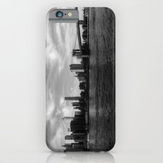 New York Skyline - Black & White iPhone 6 Slim Case