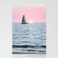 Sail Into The Sun 2 Stationery Cards
