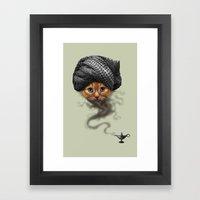 I'M A GENIE Framed Art Print