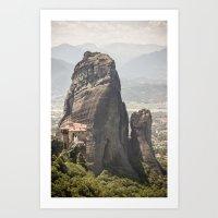 Meteora Art Print