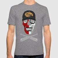 Warrior Mens Fitted Tee Tri-Grey SMALL