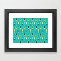 paisley pattern 4 Framed Art Print
