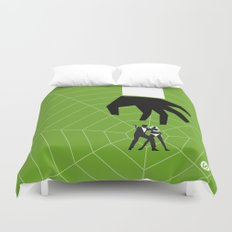 Green Dr No Duvet Cover