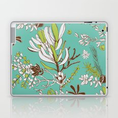 Teal Cradle Flora Laptop & iPad Skin