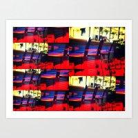 Barstools Art Print