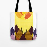 Morning, Mountain Tote Bag