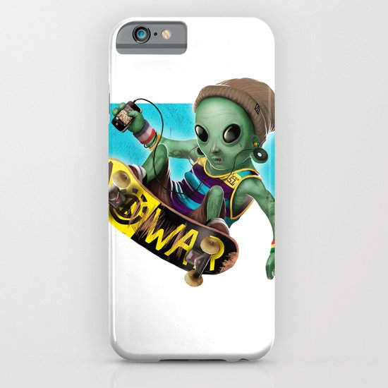 Area 51 Skate Park iPhone & iPod Case