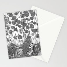 Trees and Leaves Stationery Cards
