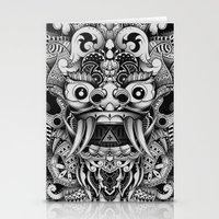 Barong Bali Stationery Cards