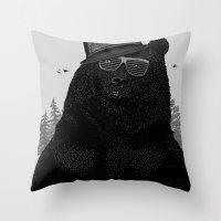 Wood Tang Clan Throw Pillow