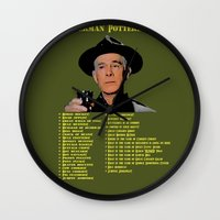 Sherman Potterisms Wall Clock