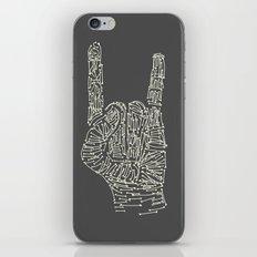 Horns Hand iPhone & iPod Skin