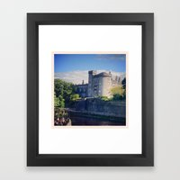Kilkenny Castle, Ireland Framed Art Print